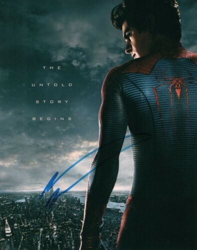 Andrew Garfield In Spiderman Signed 8x10 Autographed Photo COA 2