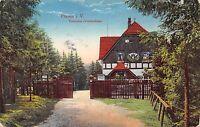 AK Plauen i. Vogtland Touristen - Vereinshaus Postkarte gel. 1917
