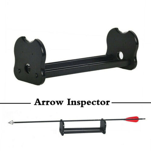 Precision Arrow Inspector Broadhead Balance Straightness Detector Spine Tester