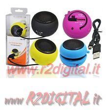 CASSE MINI TASCABILI lettori MP3 Jukebox PMP CD player PSP NETBOOK Smartphone hd