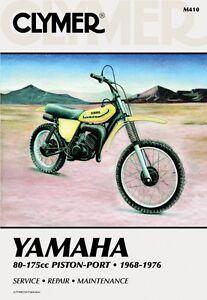 clymer repair service shop manual vintage yamaha gt yz80 at dt mx yz rh ebay com