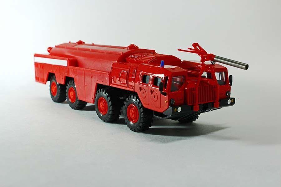 1 43 MAZ-7310  Uragan  8x8 1962 Camión De Bomberos Camión Pesado URSS Elecon