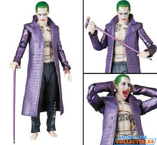 Medicom MAFEX Maf EX DC Comics - Suicide Squad - Joker Action Figure AUTHENTIC!!