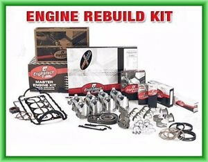Enginetech Engine Rebuild Kit for Small Block Fits Chevy 350 Overhaul 5.7L V8