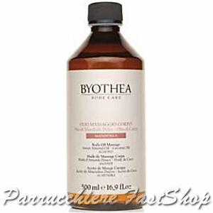 Almond Body Oil Massage Byothea ® 500ml Olio di Mandorle Dolci e Cocco