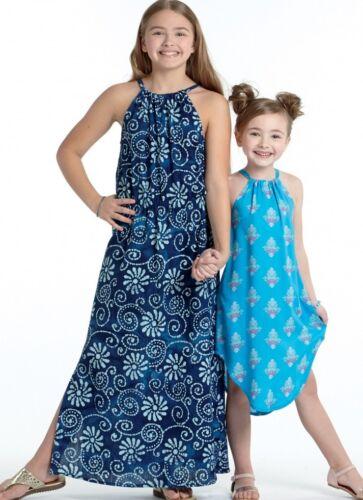 mccalls Chicas fácil aprender a coser Sewing Pattern 7589 sleevel.. Gratis Reino Unido P/&p