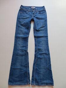Levi-039-s-479-Booty-Flare-Schlag-Jeans-Hose-W-28-L-34-TOP-Vintage-Schlaghose