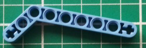 7-3 4x Liftarm 1x9 Bent Lego Technic Thick Schwarz // Schwarz 32271 Neu