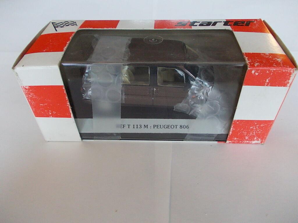 ventas directas de fábrica Estrellater 1 43 43 43 - Peugeot 806 marrón-mano hergestelt  Más asequible