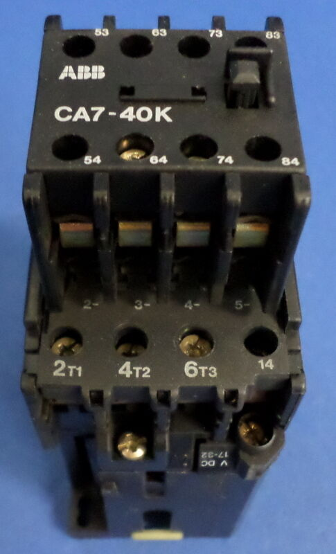 ABB CA7-40K W  ABB TBC25