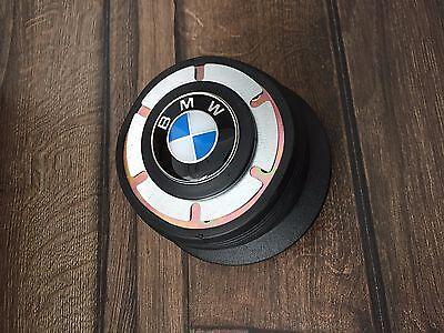BMW Hub Adapter With Badge Fits MOMO Steering Wheels E31 E32 E34 E36 1992-1998