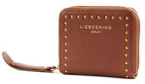 Damen-accessoires Kleidung & Accessoires Liebeskind Berlin Vintage Untumbled Stud Love Dot H8 Geldbörse Bourbon Braun Neu Gesundheit Effektiv StäRken