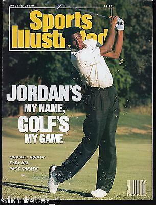 Sports Illustrated 1989 Golf's My Game Michael Jordan  NR/Mint No Label
