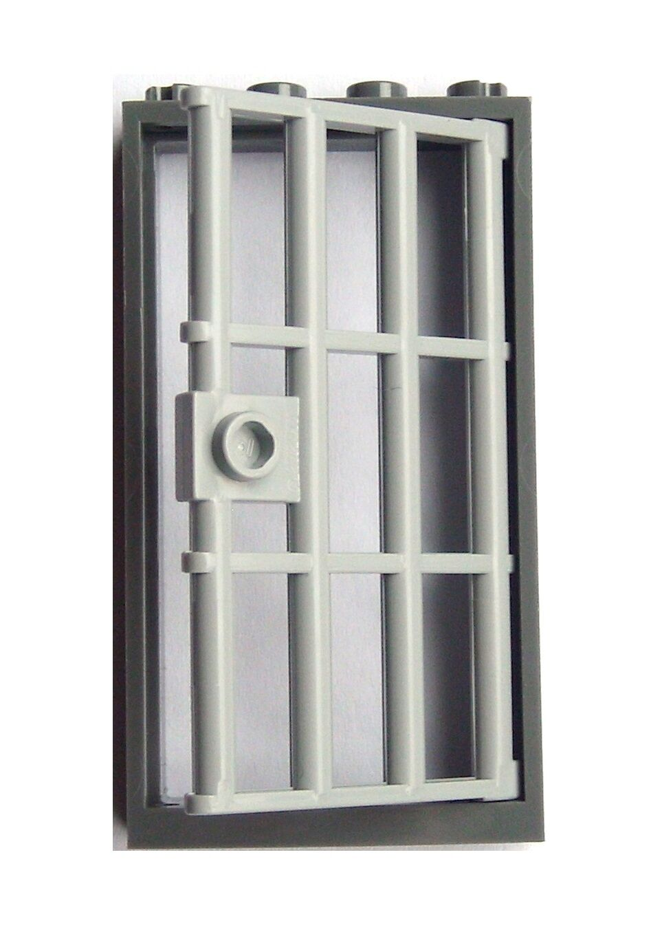 Lego 100 Pieces of Light Grey Door with with with Dark Grey Frame Cellar Prison Doors New ce391d