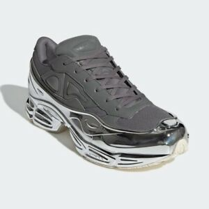 factory authentic 3a933 e5140 Details about New Adidas Men's Originals x Raf Simons Ozweego - Ash/Silver  Metallic(EE7946)