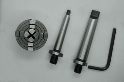 M12x1mm Thread New Mini Lathe Chuck 50mm with MT1 Mounting Shank Arbour 1MT