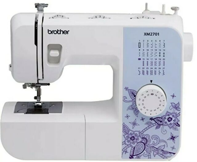 Brother XM2701 27-Stitch Home Sewing and Embroidery ...