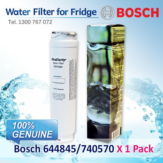 BOSCH  FRIDGE FILTER  FOR  KFN91PJ10A KA62DP90AU 9000-077104 UltraClarity Fridge