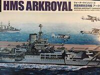 1/700 British Aircraft Carrier Hms Ark Royal 1939 2015 Aoshima