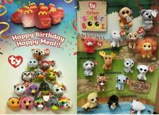 2019 & 2017 McDONALD'S TY HAPPY BIRTHDAY TEENIE BEANIE & BOO'S - PICK YOUR TOY