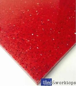 Sample Of Red Quartz Speckle Mirror Fleck Stardust