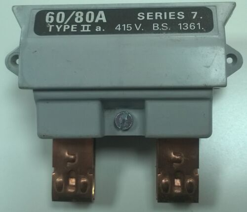HENLEY SERIES 7 CUT OUT FUSE CARRIER 60//80 AMPS 100 AMPS