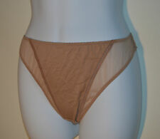 Aubade Paris Flesh / Nude Soft Thong C526 in uk Medium / fr 3