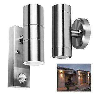 Outside-Entrance-Wall-Light-Garage-Patio-Dual-PIR-Sensor-Security-Lantern-Lamp