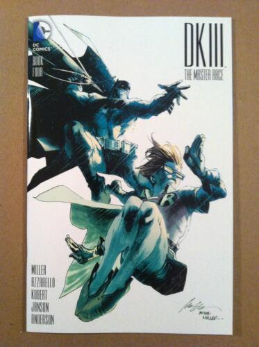 BATMAN DARK KNIGHT 3 DK III THE MASTER RACE #4 ALBUQUERQUE 1:10 VARIANT NM 1ST