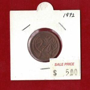 1972-Australia-Two-Cent-Unc-2c-Coin
