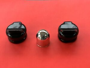 1 x Tow Ball Cover Chrome Plastic 50mm Swan /& 7 or 13 Pin Black Socket Cover