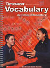 Vocabulary Activities Elementary: Elementary by Scholastic (Spiral bound, 2002)
