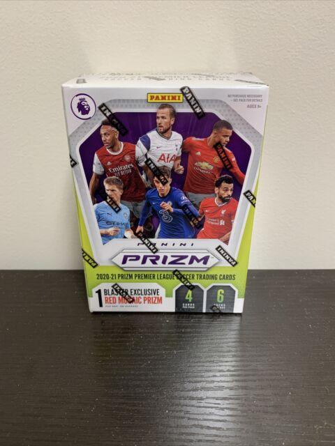 2020-21 Premier League Soccer Panini Prizm Blaster Box Red Mosaic Prizm