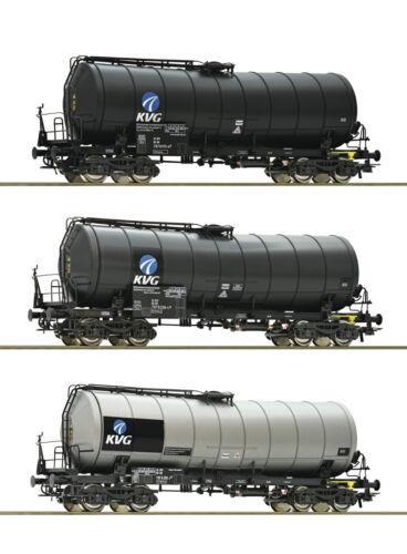 ROCO 76156 Set 3 KVG Caldaia Carrello DBAG su richiesta achstausch per Märklin GRATIS