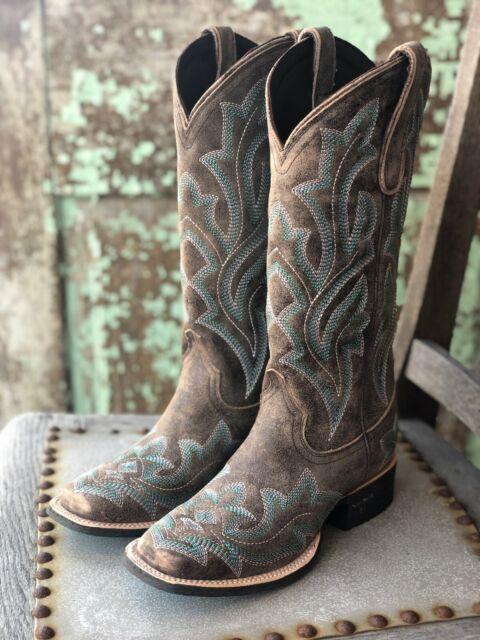 Lane Womens Saratoga Western Boot Snip Toe