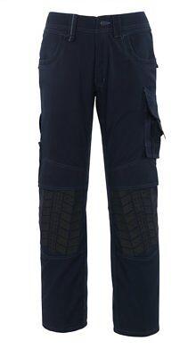 Brioso Mascotte Laronde 44 Girovita X 34 Gamba Misurata Uomo Pantaloni Da Lavoro Blu Nuovo-mostra Il Titolo Originale Materiali Accuratamente Selezionati