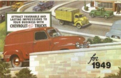 CHEVROLET 1949 Sales Brochure 49 Chevy