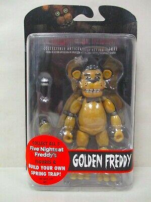 NEUF Version Printemps Piège partie Cinq Nights at Freddy/'s Golden Freddy Figurine