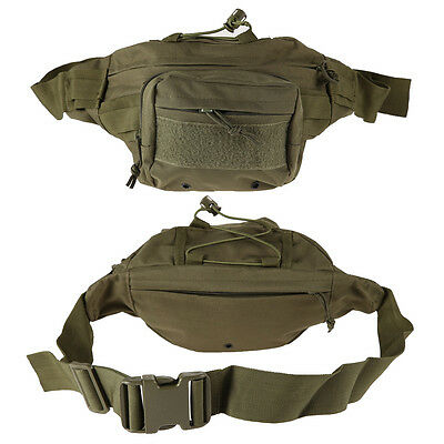 Military Tactical Waist Pack Shoulder Bag Molle Camping Hiking Outdoor Bag
