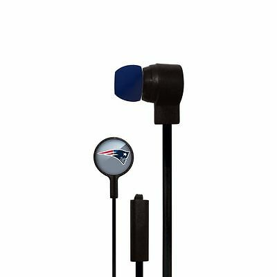 NFL New England Patriots Hands Free Ear Buds with Microphone