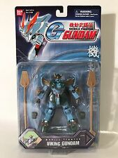 Bandai Gundam Mobile Fighter G Viking Complete Poseable Opened Rare
