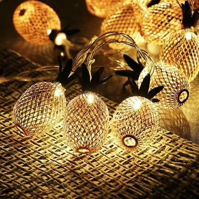Pineapple Battery Powered String Lights for Outdoor Indoor Party Decoration