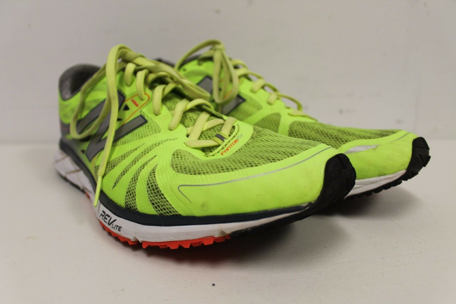 4480aa27a645 SIZE 11 MENS NEW BALANCE M1500GG2 Lime Grey Synthetic Mesh RUNNING SHOES