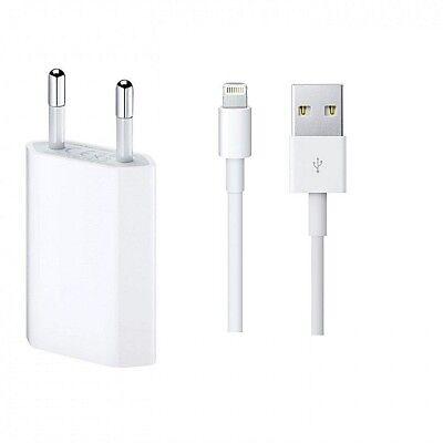 Original Apple Lightning Ladekabel für iPhone 6 6s 5 5s 7 8 X Plus mit Netzteil