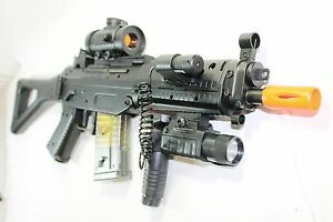 Double-Eagle-M82P-Full-amp-Semi-Automatic-Airsoft-Assault-Rifle-Laser-Sig-552