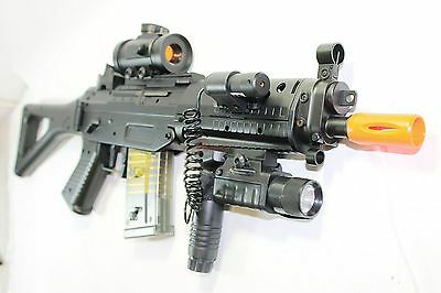 Double Eagle M82P Full & Semi Automatic Airsoft Assault Rifle Sig 552 Lot Of 2