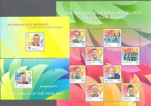 Australia-Rio-Olympics-2016-Special-limited-edition-3-min-sheets-mnh
