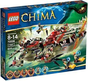 Lego-70006-Chima-Cragger-039-s-Command-Ship