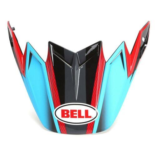 BELL MOTO-9 FLEX VISOR ABRIEBFESTIGKEIT PROTEKTOREN BLAU,SCHWARZ