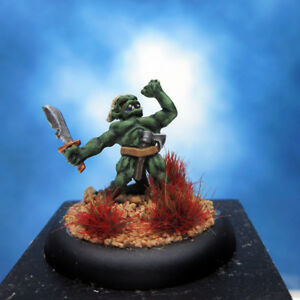Painted-Lizardman-Miniature